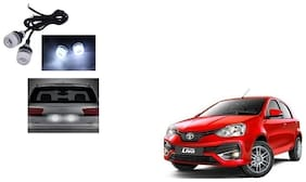 Skynex Name Plate led Light White For Toyota Etios Liva