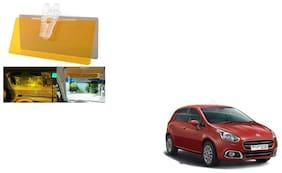 Skynex Night Vision Clip Glasses Yellow For Fiat Punto Evo