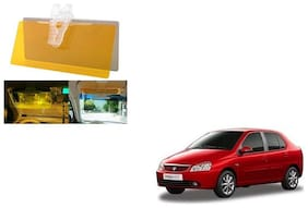 Skynex Night Vision Clip Glasses Yellow For Tata Indica ecs