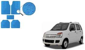 Skynex Premium Blue Noodle Car Foot Mat / Floor Mat For  Maruti Suzuki WagonR