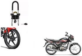 Skynex U-Type Bike Anti Theft Wheel Lock For Hero Splendor +