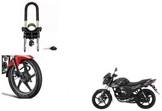 Skynex U-Type Bike Anti Theft Wheel Lock For Yamaha SZ RR Ver 2.0