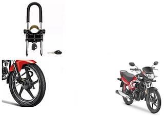 Skynex U-Type Bike Anti Theft Wheel Lock For Honda DREAM YUGA