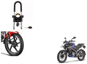 Skynex U-Type Bike Anti Theft Wheel Lock For Bajaj Pulsar 200 NS