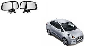 Skynex  Vehicle Car Blind Spot Mirrors Angle Rear Side View Black For Hyundai Xcent