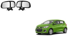 Skynex  Vehicle Car Blind Spot Mirrors Angle Rear Side View Black For Chevrolet Spark