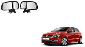 Skynex  Vehicle Car Blind Spot Mirrors Angle Rear Side View Black For Volkswagen Polo