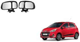 Skynex  Vehicle Car Blind Spot Mirrors Angle Rear Side View Black For Hyundai Grand i10