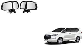 Skynex  Vehicle Car Blind Spot Mirrors Angle Rear Side View Black For Toyota Innova CrystA