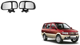 Skynex  Vehicle Car Blind Spot Mirrors Angle Rear Side View Black For Chevrolet Tavera