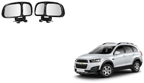 Skynex  Vehicle Car Blind Spot Mirrors Angle Rear Side View Black For Chevrolet Captiva
