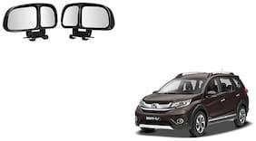 Skynex  Vehicle Car Blind Spot Mirrors Angle Rear Side View Black For Honda Brv