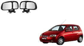 Skynex  Vehicle Car Blind Spot Mirrors Angle Rear Side View Black For Chevrolet Aveo Uva