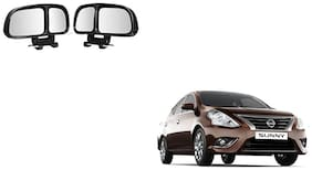 Skynex  Vehicle Car Blind Spot Mirrors Angle Rear Side View Black For Nissan Sunny