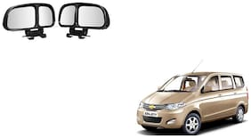 Skynex  Vehicle Car Blind Spot Mirrors Angle Rear Side View Black For Chevrolet Enjoy
