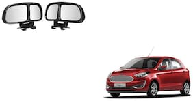 Skynex  Vehicle Car Blind Spot Mirrors Angle Rear Side View Black For Ford Figo