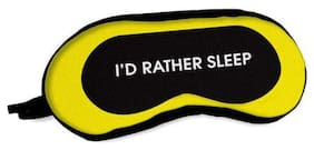 Sleeping Eye Mask Blindfold - Breathable Eye Patch with Complete Light Blocking - 7.5 x 3 inches Contoured Eye Cover