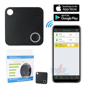 Smart Key Finder Bluetooth Slim&Mini Tracker GPS Locator Anti-Lost Wallet Phone