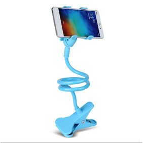 || Smarty  ^_^ ||Sky Blue|| Universal Flexible 360  Snake Style Stand || Long Lazy Mobile Holder || For Apple iPhone/Samsung/Android Mobiles