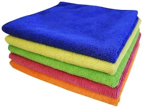 SOFTSPUN Microfiber Car Cleaning,Detailing & Polishing Cloth - 40x40 cm - 5 pc