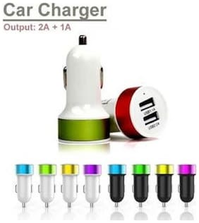 Dual USB Car Charger 2.0A (Assorted)