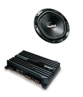 Sony XS-NW12002 12-inch Woofer (Black)XMN502 2/1 Channel 500-Watt Amplifier (Black)
