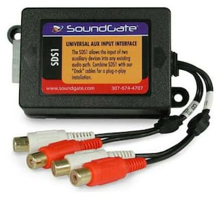 Soundgate SDSFORD Dual Auxiliary Input Plug & Play For Ford 1995 - 2007 Vehicles