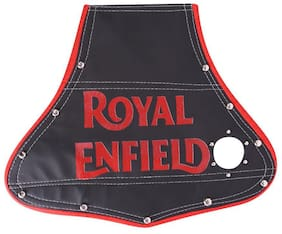 Speedwav Bike Rear Mat Mud Guard Black-Royal Enfield Electra Delux