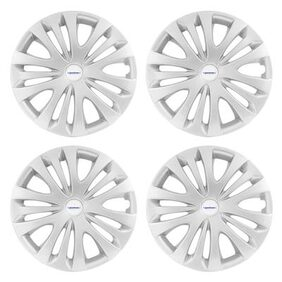 Speedwav Car 15 Inch ERT-D Wheel Cap Set of 4 Silver-Toyota Innova Type 1 (2005-2009)