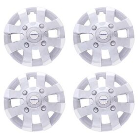 Speedwav Car 15 Inch XYL-D Wheel Cap Set of 4 Chrome-Skoda Octavia Type 2 (2013-2015)