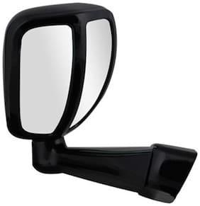 Front Fender SUV Wide Angle Mirror-Black-Mahindra Bolero Type 4