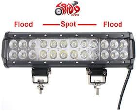 Spidy Moto 12 72W Cree LED Light Bar Spot Flood Combo Beam Offroad Light Volkswagen Touareg