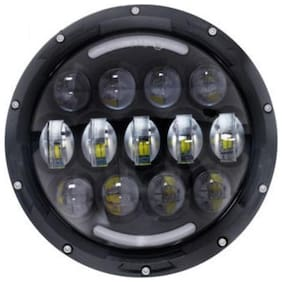 Spidy Moto H4 Bullet Projector Daymaker LED Light Headlight Royal Enfield Twin spark
