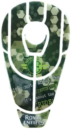 Spidy Moto Motorcycle Tank Pad Its Not About The Destination Its About The Ride 005 Bike Tank Pad
