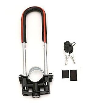 SRPHERE-Bike Front Shocker Lock, Wheel Lock (Disk Brake) Universal for Motorcycle