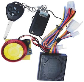 SRPHERE Motorcycle Bike Vehicle Anti-Theft Security Kit Alarm System Remote Control 12V, Anti-Hijacking Cutting Off Remote Engine Start Arming