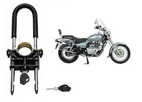 SRPHERE  U-Type Bike Anti Theft Wheel Lock for Hero Splendor Plus