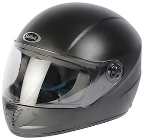Stallion Blk Vento Pro Full Face Black Helmet
