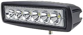 STAR SHINE 6 LED Bar LED Fog Light/ Work Light Spot Beam Off Road Driving Lamp Universal Fitting for All Bikes and Cars
