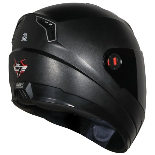 ef4bdb40 Buy Steelbird SBA-1 7Wings Hands Free Dashing Full Face Helmet with Smoke  Visor (LARGE 600 MM;BLACK) Online at Low Prices in India - Paytmmall.com