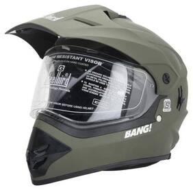 Steelbird Splash Motorbike Helmet (Green)