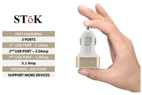 SToK car charger 5.1 amp-G