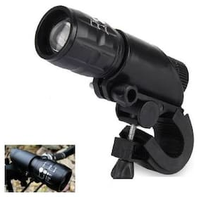 Strauss Bicycle Zoom LED Torch with Mount Holder