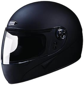 Studd Chrome Super Full Face Helmet (Matt Black) (1 Piece)