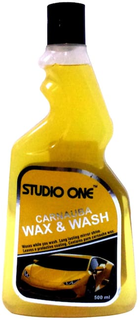 Studio One Carnauba Wax & Wash-500 ml.