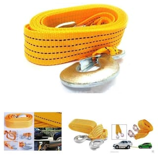 Super Strong Towing Rope Cable for Vehicles YELLOW color