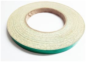 Superior Quality Imported 1.27 cm (0.5 inch) Radium Reflective Tape - 12 Ft. Green color Strip