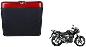 Suzuki GS150R Dua Polo Matt Black Red Side Box Extra Luggage Box