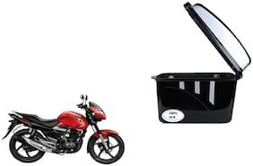 Suzuki Zeus Dua Trendy Black Silver Side Box Extra Luggage Box