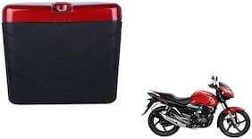 Suzuki Zeus Dua Polo Matt Black Red Side Box Extra Luggage Box